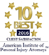 Logo Recognizing Max Meyers Law PLLC's affiliation with the American Institute of Personal Injury Attorneys